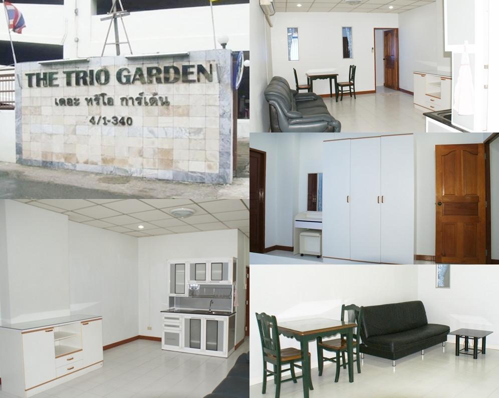 รูปของประกาศเช่าคอนโดThe Trio Garden(1 ห้องนอน)(3)