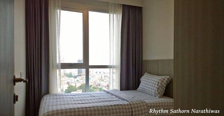 รูปของประกาศเช่าคอนโดริทึ่ม สาทร – นราธิวาส (2 ห้องนอน)(4)
