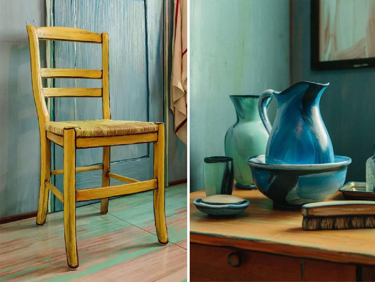 แต่งคอนโดสไตล์ แวนโก๊ะ ภาพวาด Post-Impressionist