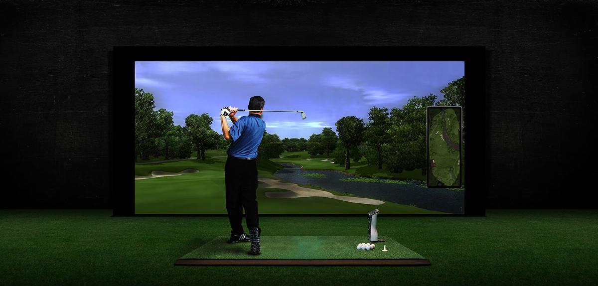 รูปบทความ สนามกอล์ฟในคอนโด!? มารู้จักนวัตกรรมใหม่ Golf Simulator