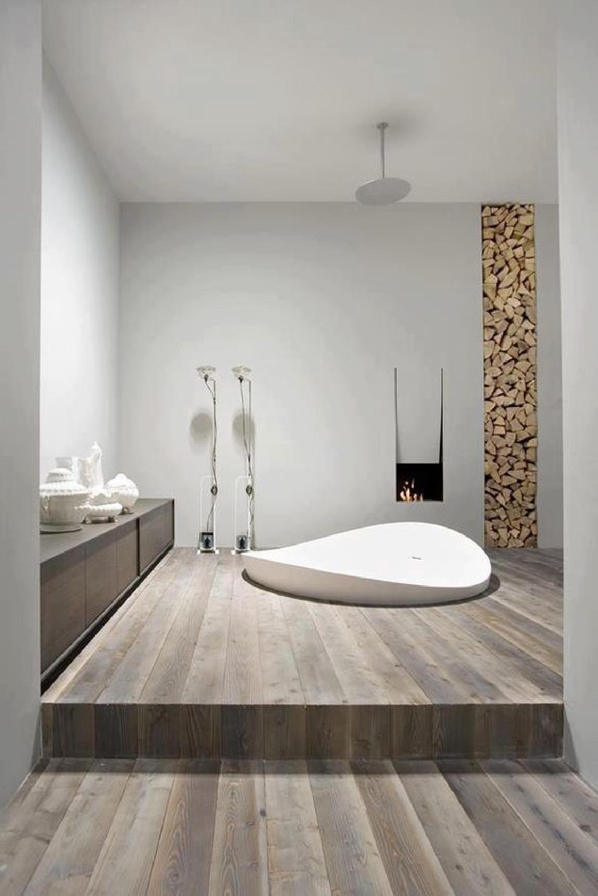 ไอเดียแต่งห้องน้ำคอนโด อ่างอาบน้ำ พื้นที่เล็กๆ