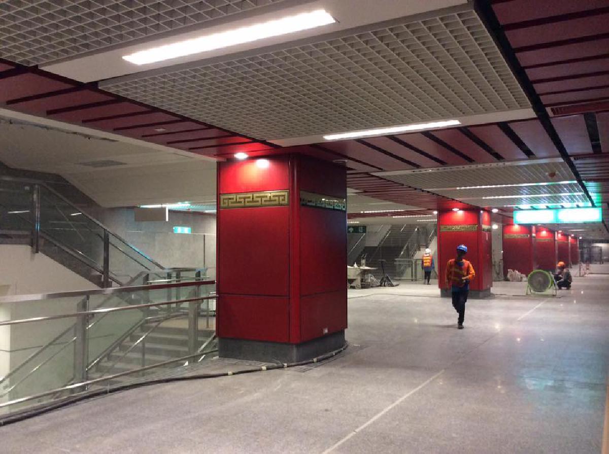 รถไฟฟ้าใต้ดินสถานีวัดมังกร
