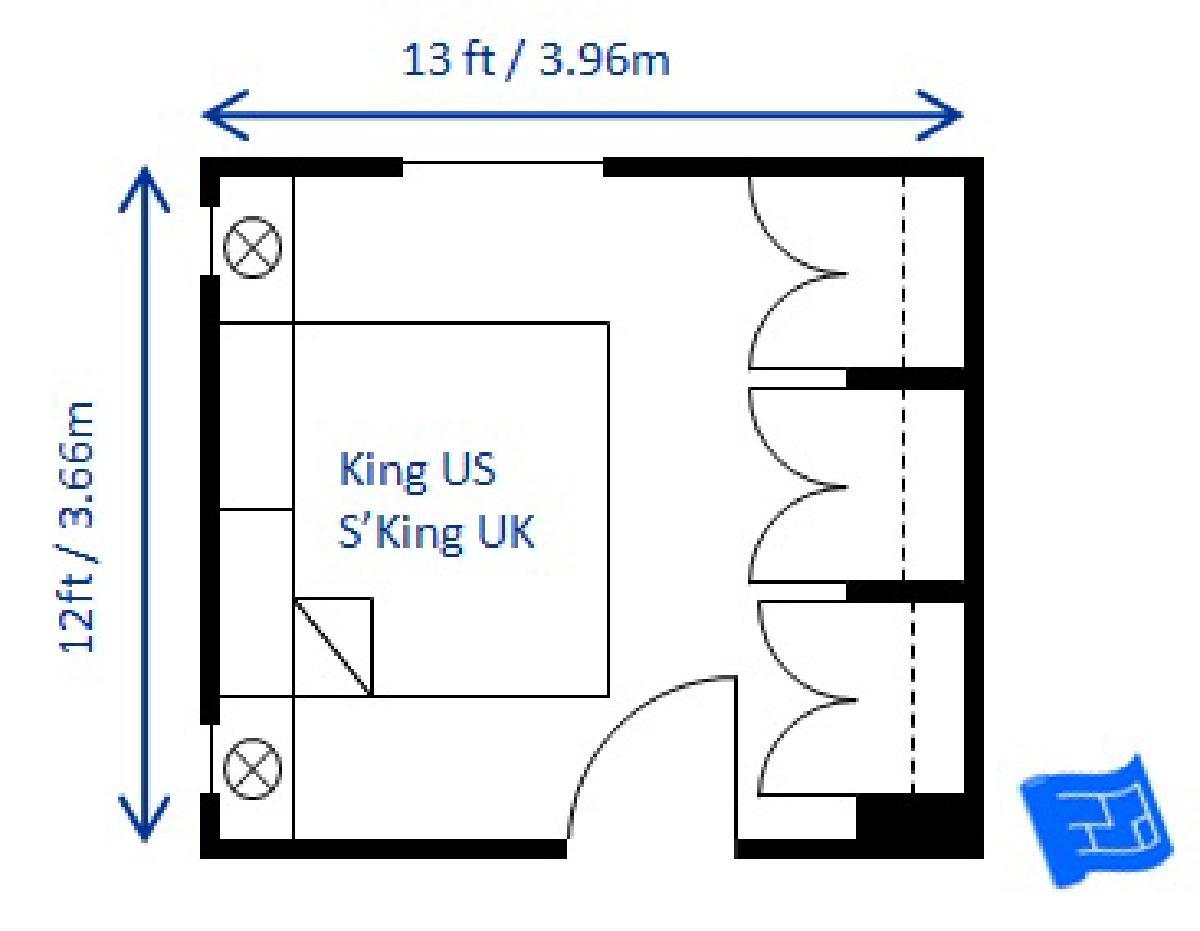 แบบห้องนอนขนาด 4X4