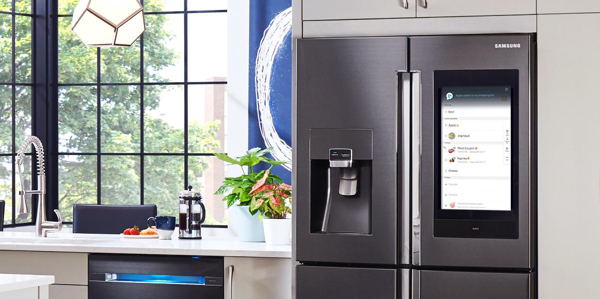 ตู้เย็นอัจฉริยะของ Samsung