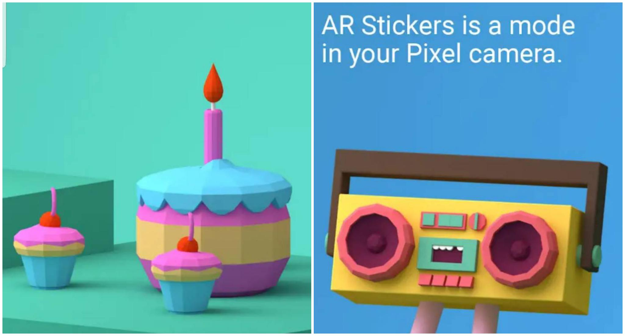 AR Sticker