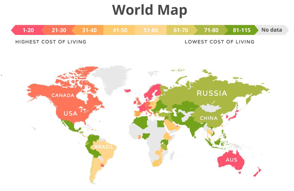 รูปบทความ ย้ายประเทศไปไหนดี รวมค่าครองชีพของประเทศต่างๆ ก่อนตัดสินใจ