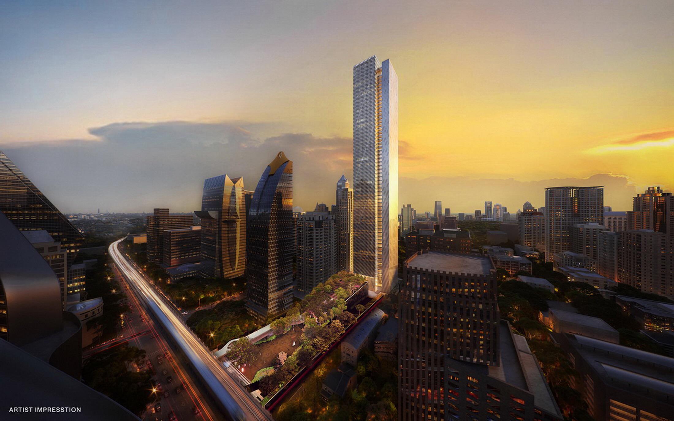 รูปบทความ One City Centre อาคารสำนักงานเกรดเอแห่งใหม่ บนความร่วมมือ ไรมอนแลนด์ และ MITSUBISHI ESTATE