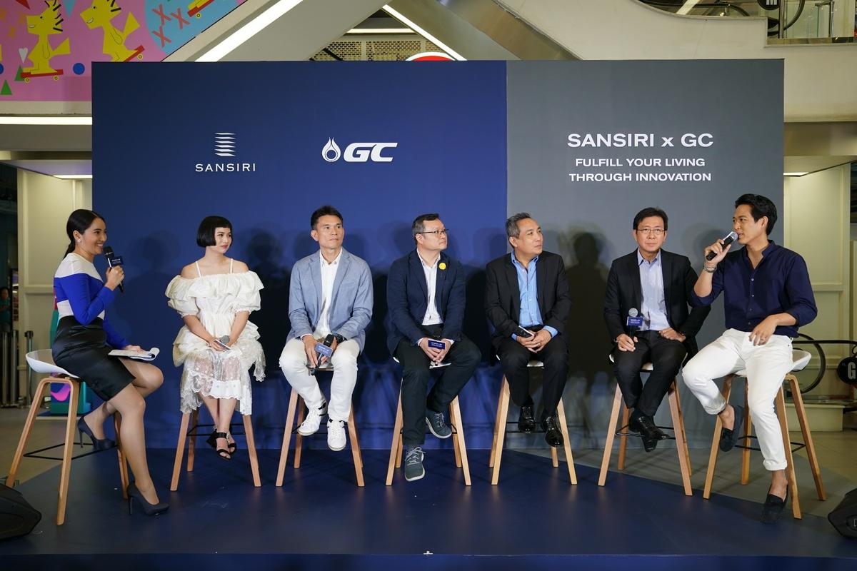 รูปบทความ แสนสิริ จับมือ GC สร้าง Green Society เต็มรูปแบบครั้งแรกในไทย ตอกย้ำผู้นำด้าน Circular Living