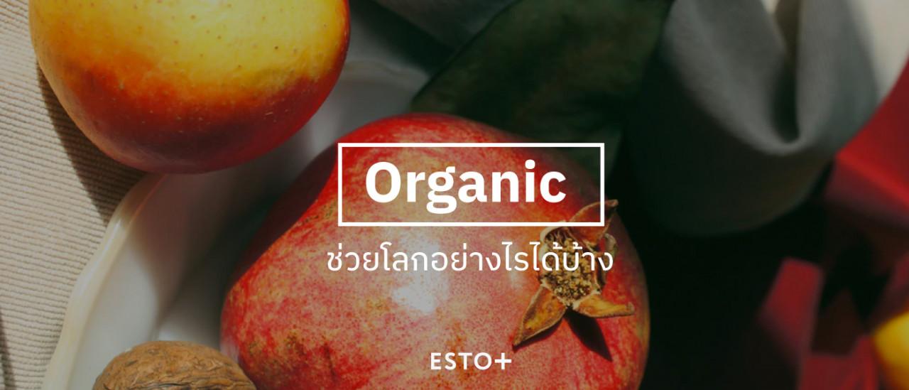 รูปบทความ Organic ช่วยโลกอย่างไรได้บ้าง