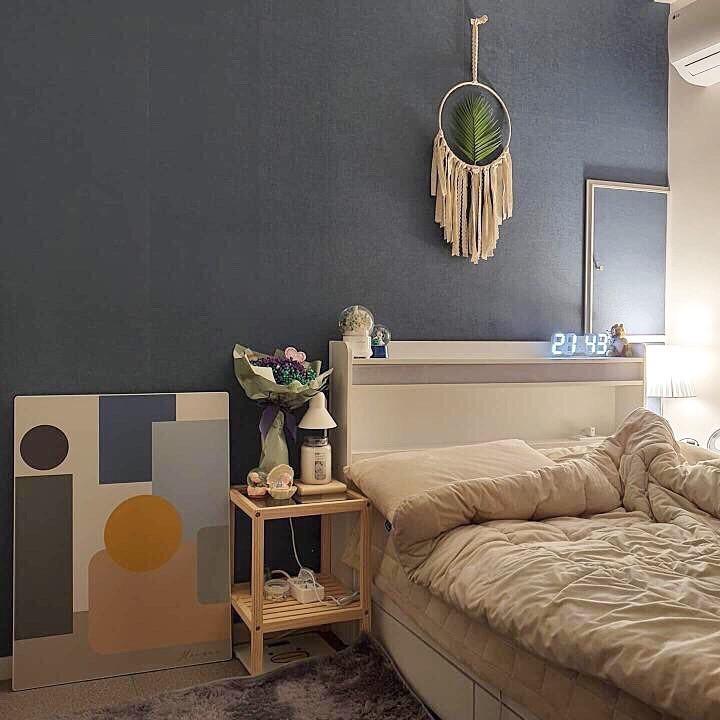 แต่งห้องนอนสวยๆ ด้วยสีเทา