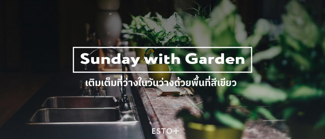 รูปบทความ Sunday with Garden เติมเต็มที่ว่างในวันว่างด้วยพื้นที่สีเขียว