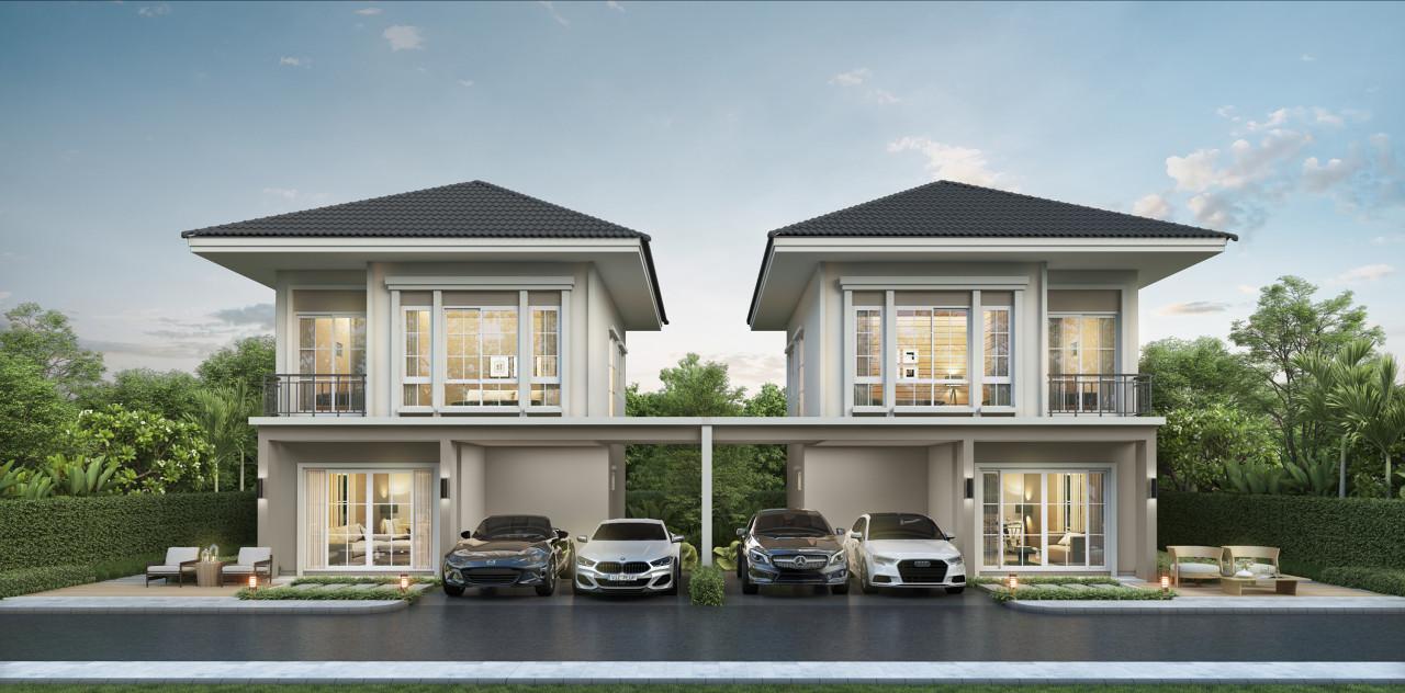 รูปบทความ เจ.เอส.พี. เปิดเฟสใหม่ บ้านพร้อมอยู่ โครงการ เจ ซิตี้ ติวานนท์-บางกะดี