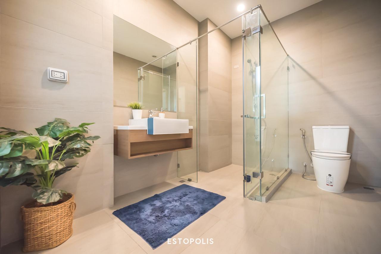 ตำแหน่งฮวงจุ้ยห้องน้ำ - พื้นห้องน้ำ