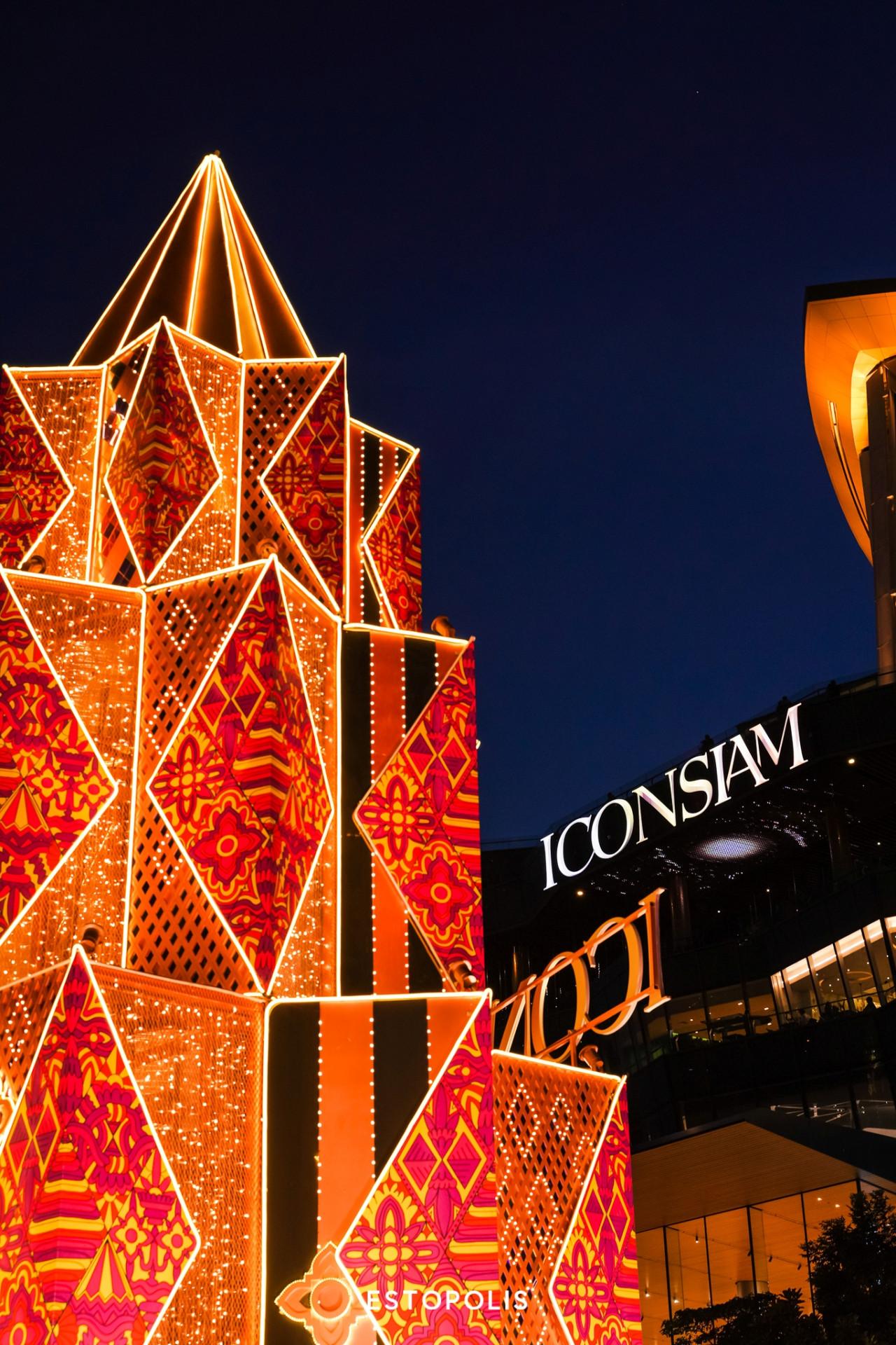 รีวิวเทศกาลงานไฟ ICONSIAM 2020 Bangkok Illumination 2020 At ICONSIAM