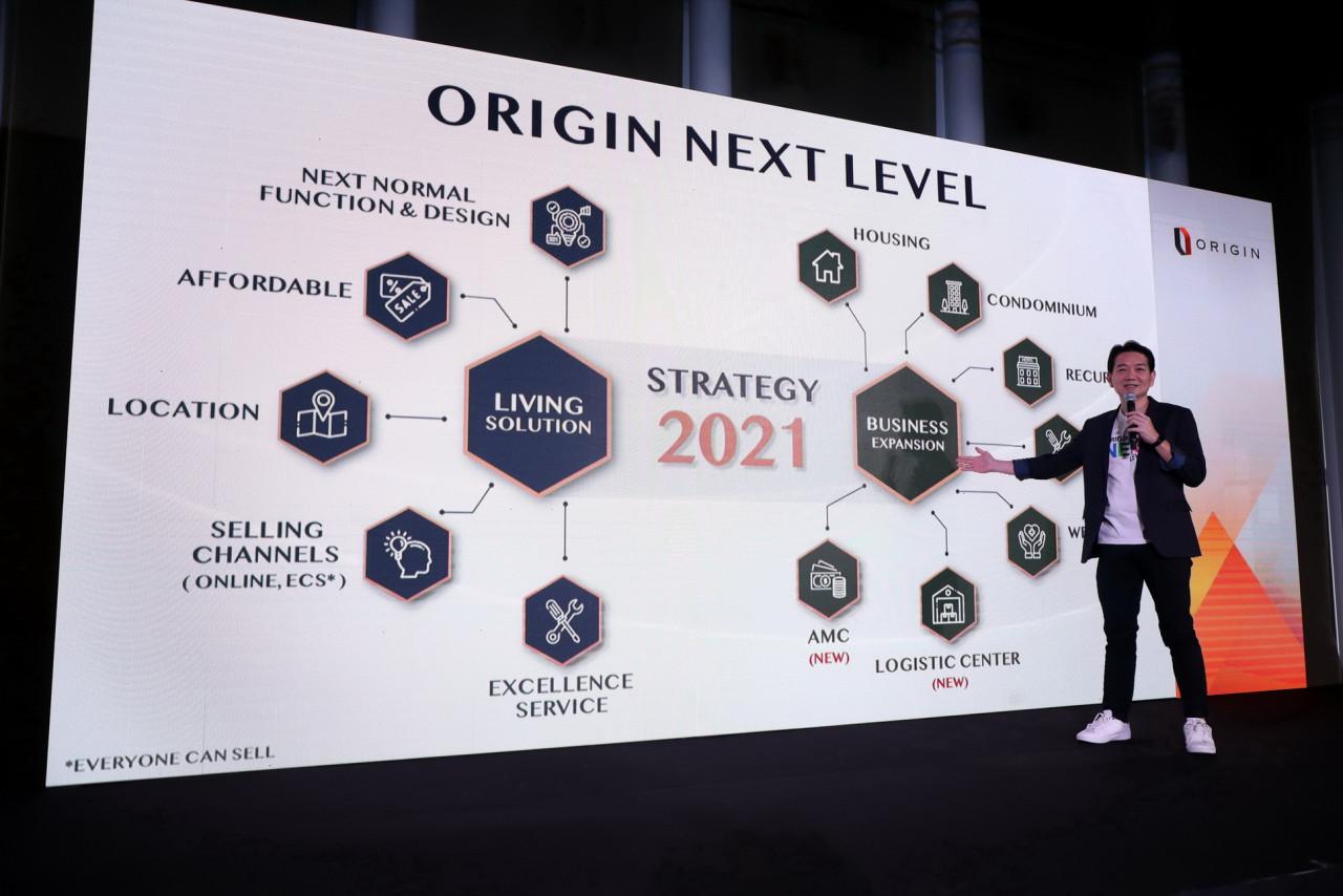 รูปบทความ ออริจิ้น โชว์แผน NEXT LEVEL เปิดโครงการใหม่ 20,000 ล้าน พร้อมลุยหลากธุรกิจใหม่ Logistics Center-Healthcare-AMCสร้างEcosystem