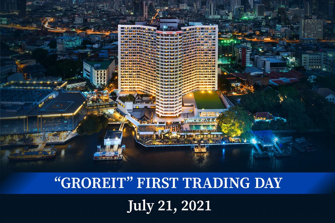 ภาพประกอบบทความ กองทรัสต์ GROREIT กระแสตอบรับเยี่ยม ขาย IPO หมดเกลี้ยง  แกรนด์ แอสเสทฯ เผยแผนเตรียมปรับปรุงโรงแรมทั้ง 5 แห่ง