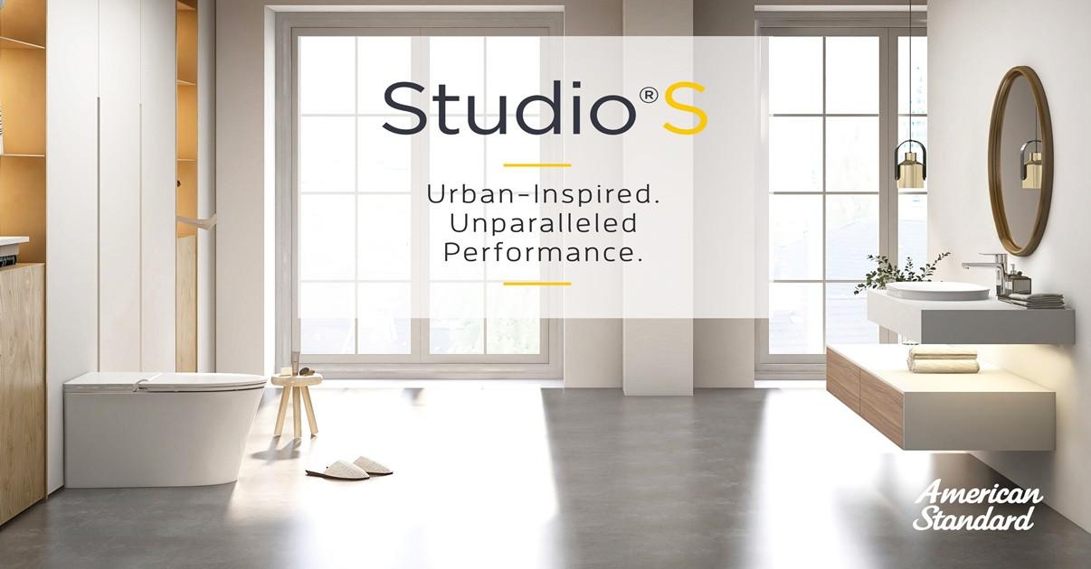 รูปบทความ อเมริกันสแตนดาร์ดเปิดตัว Studio S Bath Collection