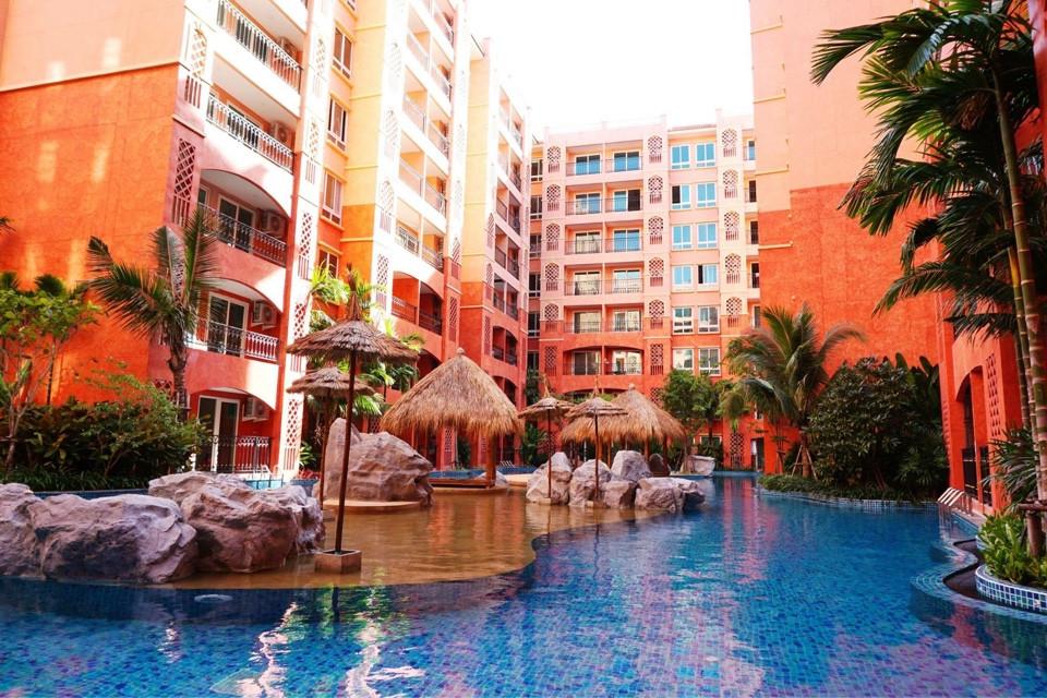 รูปของประกาศขายคอนโดSeven Sea Condo Resort Jomtien(1 ห้องนอน)(4)
