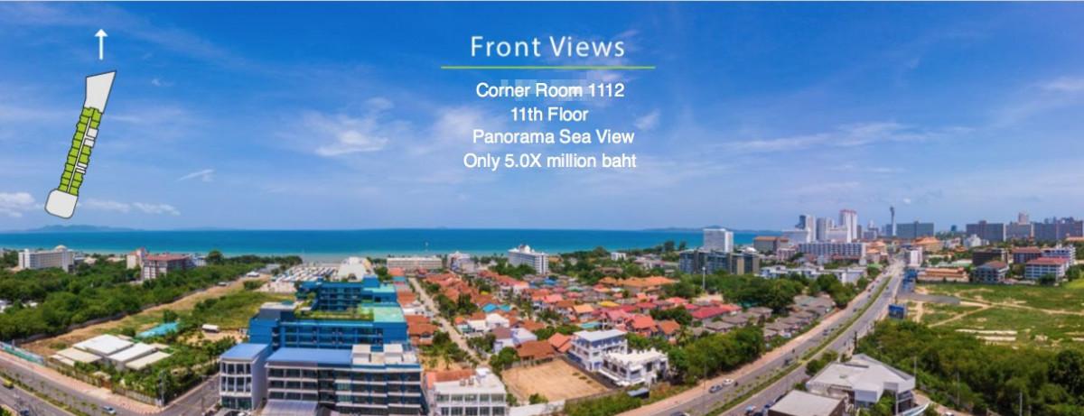 รูปของประกาศขายดาวน์คอนโดRiviera OceanDrive Pattaya (R4)(1 ห้องนอน)(4)