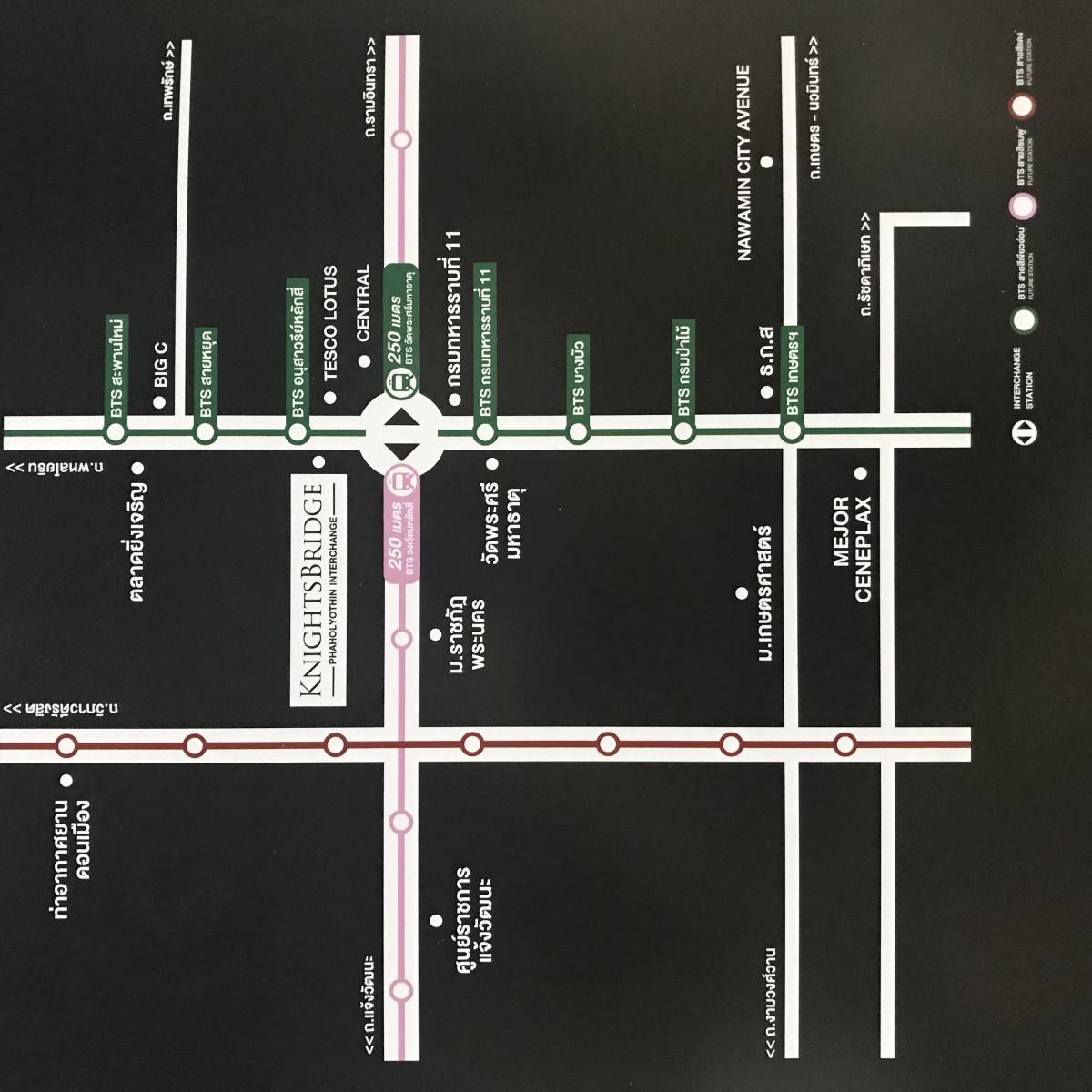 รูปของประกาศขายดาวน์คอนโดKnightsbridge พหลโยธิน อินเตอร์เชนจ์(1 ห้องนอน)(4)