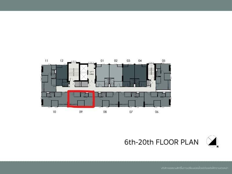 รูปของประกาศขายคอนโดมิติ ชีวา เกษตร สเตชั่น(1 ห้องนอน)(2)