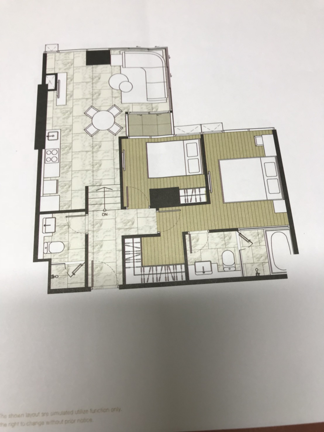 รูปของประกาศขายคอนโดแอชตัน สีลม(2 ห้องนอน)(3)