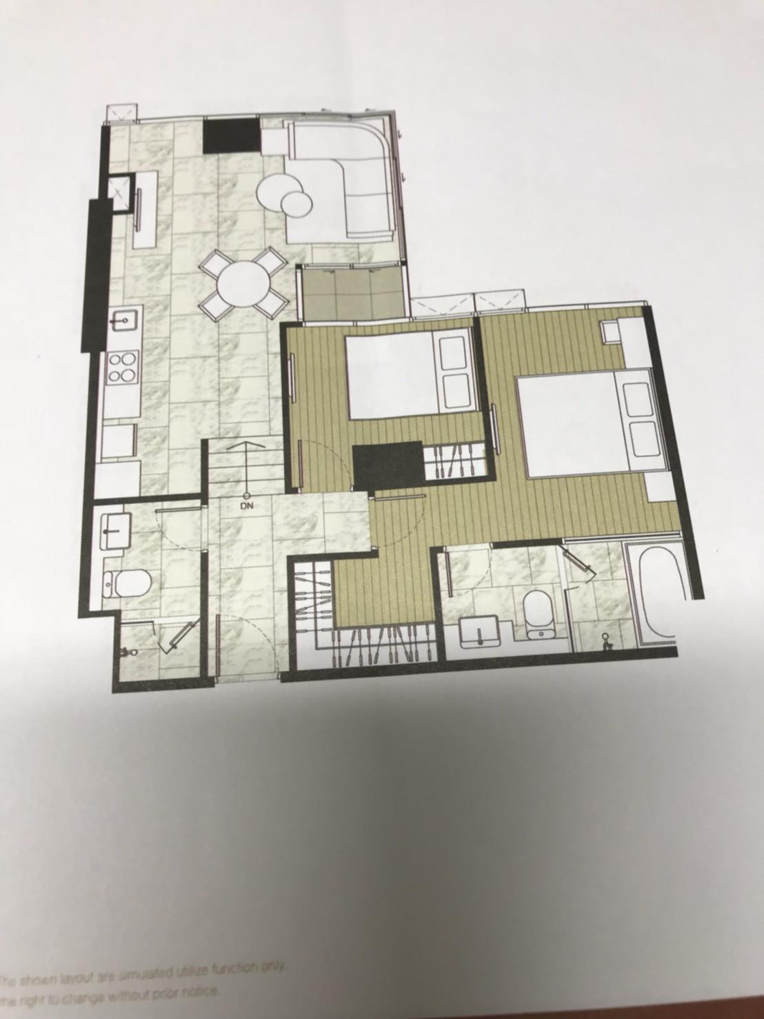 รูปของประกาศขายดาวน์คอนโดแอชตัน สีลม(2 ห้องนอน)(4)