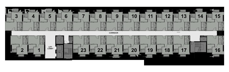 รูปของประกาศขายดาวน์คอนโดเดอะ โพลิแทน บรีซ(1 ห้องนอน)(4)