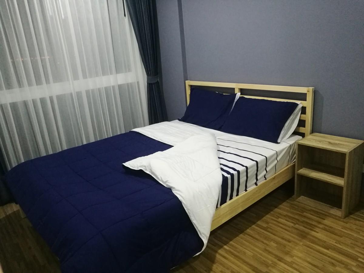 ประกาศเช่าคอนโดฯ พร้อมอยู่ 1 ห้องนอน 1 ห้องน้ำ เครื่องใช้ไฟฟ้าครบ เฟอร์นิเจอบิ้วอิน