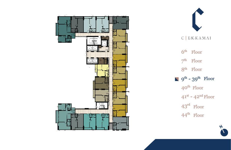 รูปของประกาศขายคอนโดซี เอกมัย(1 ห้องนอน)(4)