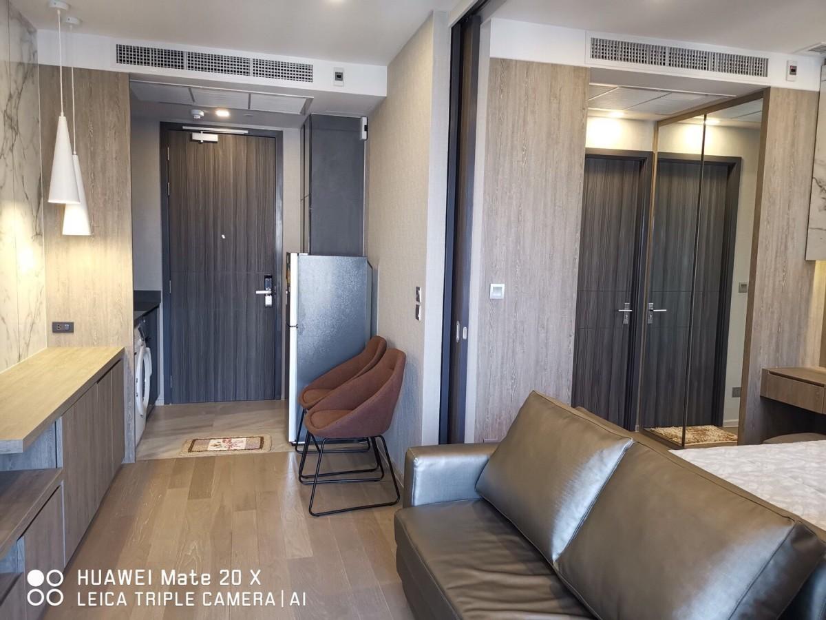 ประกาศเช่าคอนโด Ashton Asoke (แอชตัน อโศก) ใกล้ MRT สุขุมวิท, BTS อโศก 1 ห้องนอน 34 ตร.ม แต่งครบพร้อมอยู่