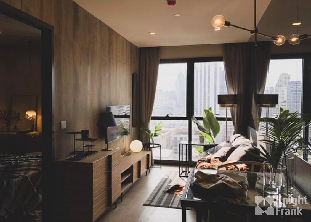 ประกาศBrand-new 1 Bedroom at Ashton Asoke for rent 32sqm  32,000THB Nicely decorated,