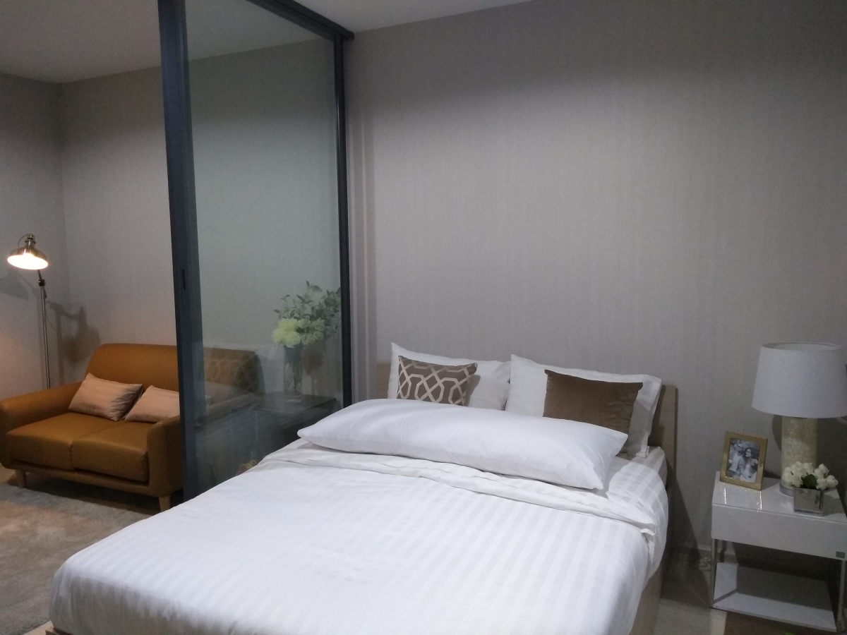 ประกาศSale/rent Ideo Sukhumvit 115 Close to BTS Pu-Chao studio 27.65 sq.m. 31st floor 13,000 /month