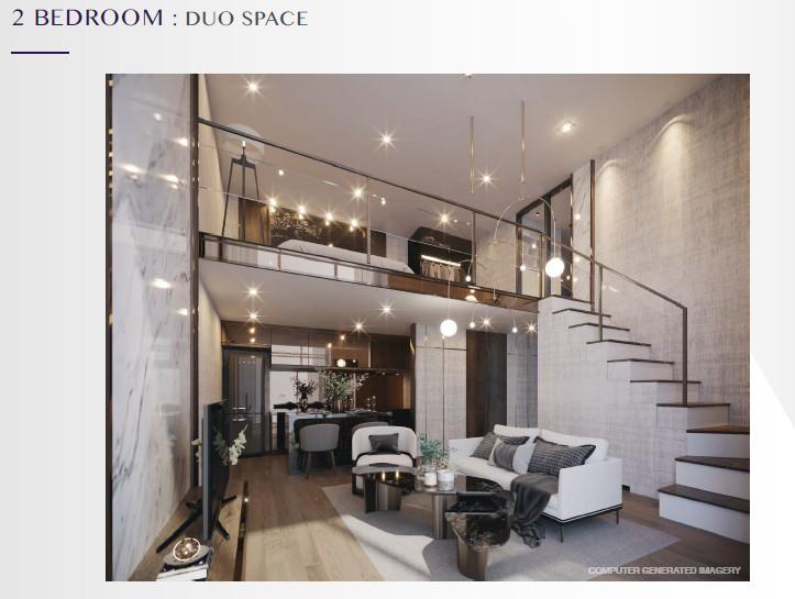 """ประกาศFor Sale Condo Park Origin Thonglor (33 sq.m 38 floor) 2 BED DUO SPACE """"ห้องมุม"""" สร้างเสร็จปี 2565"""