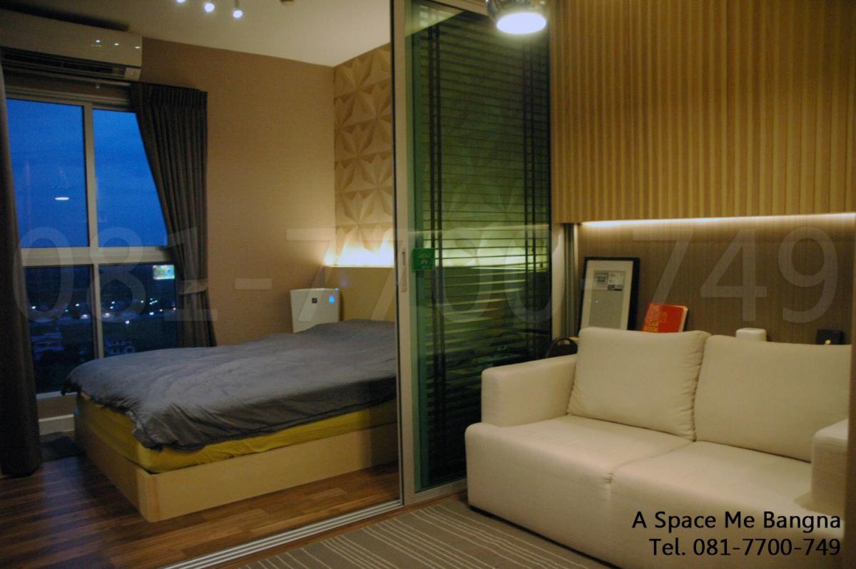 ประกาศขาย A Space Me Bangna ใกล้ BTS บางนา 1 ห้องนอน 25.05 ตร.ม. เฟอร์ครบ แต่งสวย พร้อมเข้าอยู่