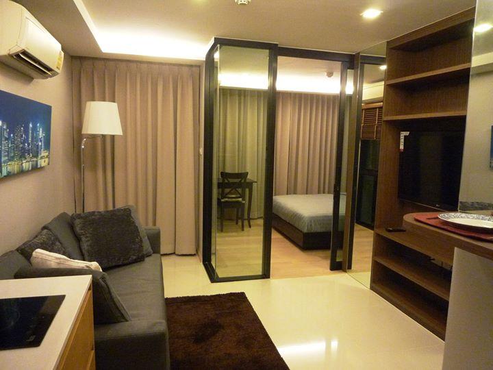 ประกาศ[เช่า/For Rent] Socio Ruamrudee | โซซิโอ ร่วมฤดี - ใกล้ BTS เพลินจิต - 1 ห้องนอน 26.98 ตร.ม