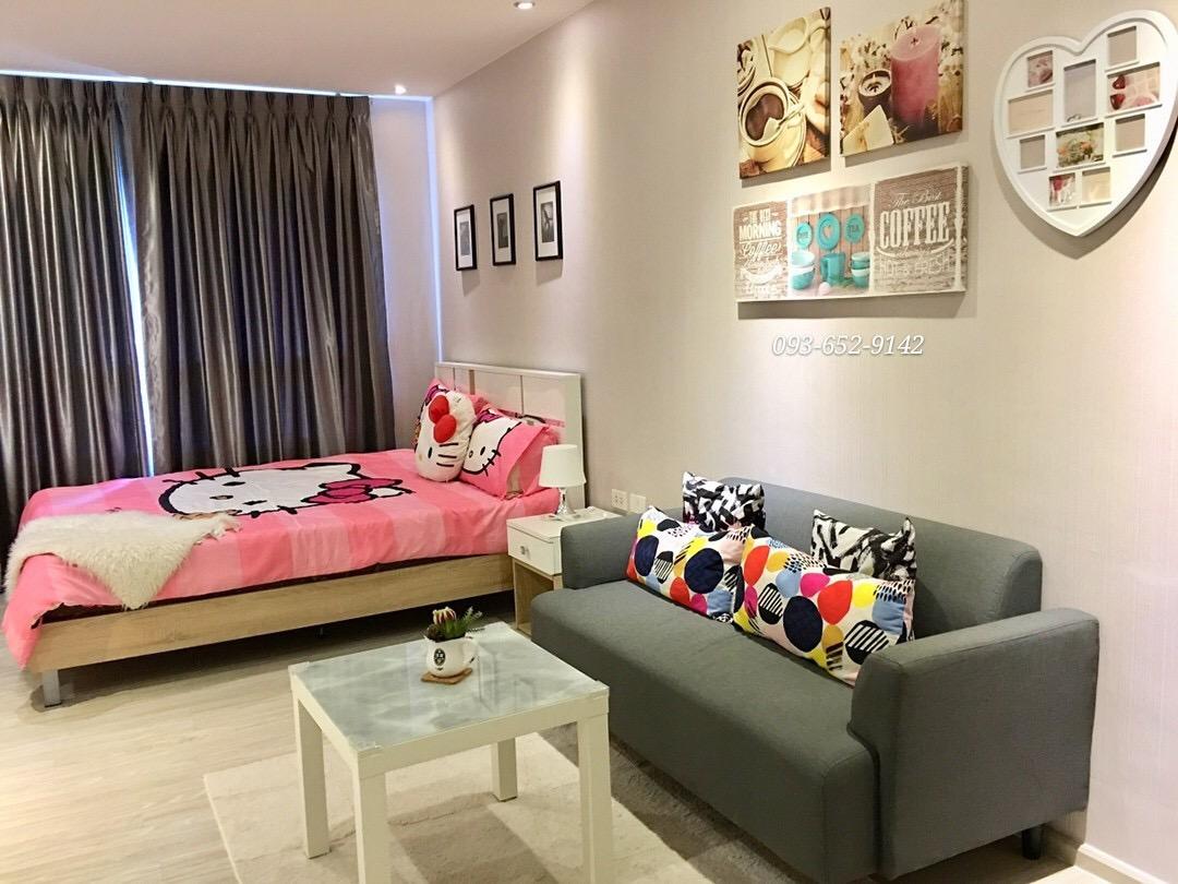 ประกาศให้เช่าคอนโด Aspire Sathorn-Taksin (Brick Zone) ใกล้ BTSวุ ฒากาศ 1 ห้องนอน 30 ตร.ม. วิวสระ