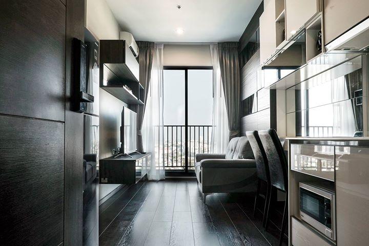 ประกาศให้เช่า G1357 C Ekkamai 1 bedroom 1 bathroom Area 32 sq.m  Floor 17 for Rent 21,000 / month