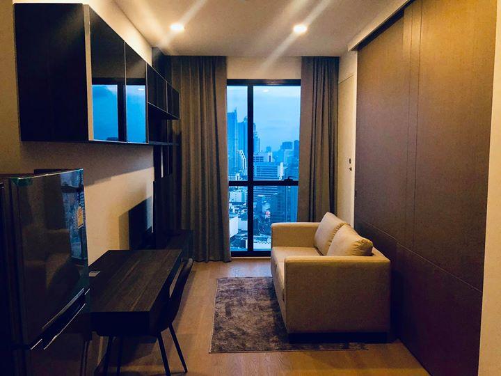 ประกาศ[เช่า/For Rent] Ashton Silom | แอชตัน สีลม - ใกล้ MRT สามย่าน - 1 ห้องนอน 32.5 ตร.ม