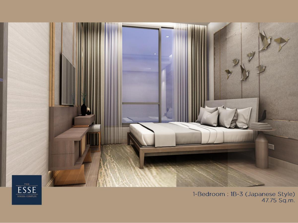 ประกาศ[HOT : ขาย] คอนโด ดิ เอส แอท สิงห์ คอมเพล็กซ์ (THE ESSE at SINGHA COMPLEX) ใกล้ MRT เพชรบุรี (1 ห้องนอน) ห้อง 1B-3