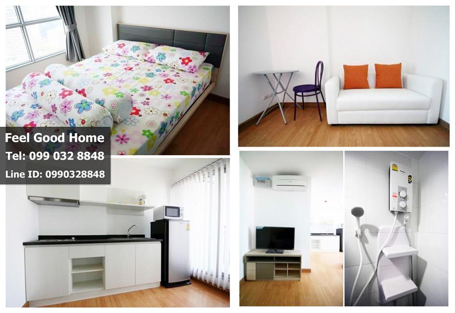 ประกาศ[For Rent] ให้เช่าคอนโด Aspire Rama 4 ตกแต่งพร้อมอยู่ 1 ห้องนอน 28 ตร.ม. ใกล้ ม.กรุงเทพ พร้อมอยู่ (++ห้องสวย++)