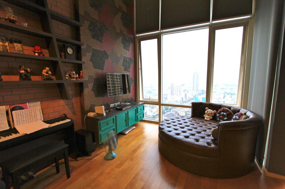 ประกาศ[For rent/ให้เช่า] คอนโด Villa Rachatewi (วิลล่า ราชเทวี) ติด BTS พญาไท 70 ตร.ม.ชั้น 25 ห้อง Duplex 1นอน ห้องสวย พร้อมอยู่