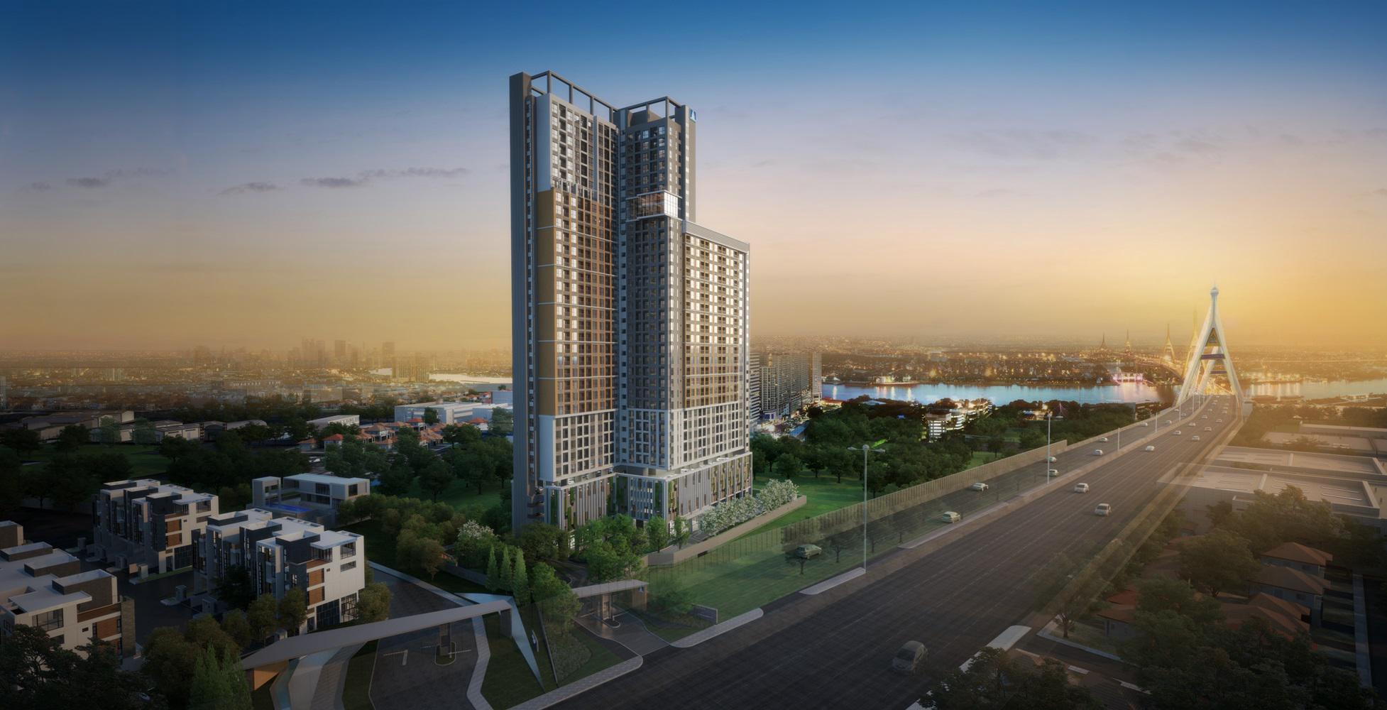 รูปหน้าปก  [Preview] พรีวิวคอนโด ลุมพินี เพลส พระราม 3 - ริเวอร์ไรน์ (Lumpini Place Rama 3- Riverine) คอนโดบนวิวโค้งแม่น้ำที่สวยที่สุด ราคาเริ่ม 1.78 ล้านบาท