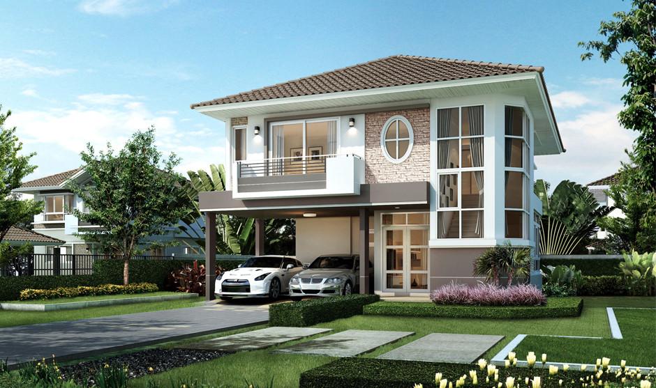 บ้านเดี่ยว บ้านแฝด ทาวน์โฮม ทาวน์เฮ้าส์ Supalai Park Ville พระยาสัจจา-สุขุมวิท รีวิว พรีวิว ที่ตั้ง ทำเล การเดินทาง