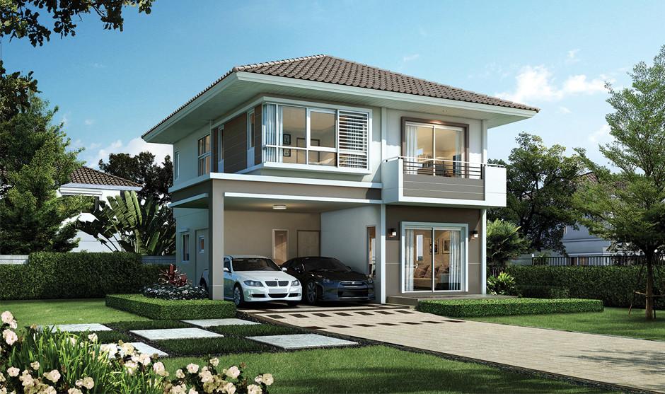 บ้านเดี่ยว บ้านแฝด ทาวน์โฮม ทาวน์เฮ้าส์ Supalai Garden Ville รังสิต คลอง 2 รีวิว พรีวิว ที่ตั้ง ทำเล การเดินทาง