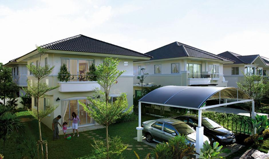 บ้านเดี่ยว บ้านแฝด ทาวน์โฮม ทาวน์เฮ้าส์ Supalai Garden Ville วงแหวน-ลำลูกกา คลอง 3 รีวิว พรีวิว ที่ตั้ง ทำเล การเดินทาง