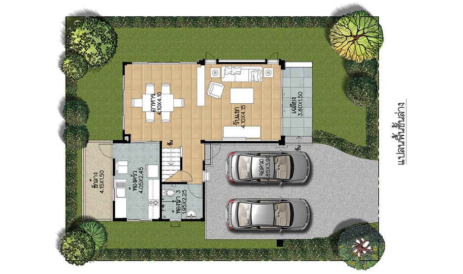 บ้านเดี่ยว บ้านแฝด ทาวน์โฮม ทาวน์เฮ้าส์ Supalai Park Ville นิตโย (อุดรธานี) รีวิว พรีวิว ที่ตั้ง ทำเล การเดินทาง