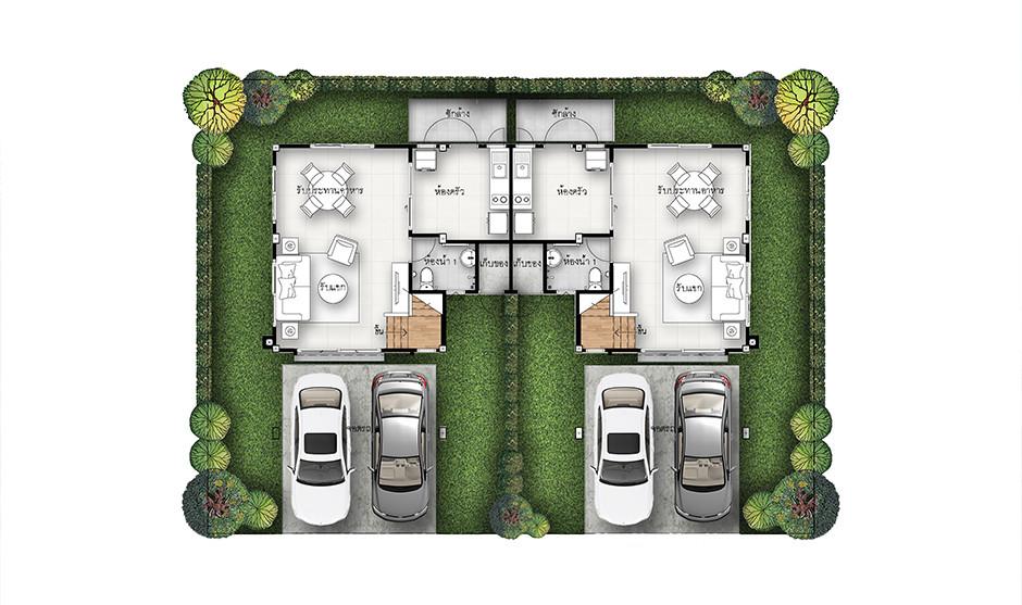 บ้านเดี่ยว บ้านแฝด ทาวน์โฮม ทาวน์เฮ้าส์ Supalai Primo สุรนารี รีวิว พรีวิว ที่ตั้ง ทำเล การเดินทาง