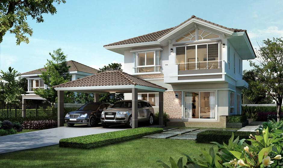บ้านเดี่ยว บ้านแฝด ทาวน์โฮม ทาวน์เฮ้าส์ Supalai Garden Ville วงแหวน-สันกำแพง (เชียงใหม่) รีวิว พรีวิว ที่ตั้ง ทำเล การเดินทาง