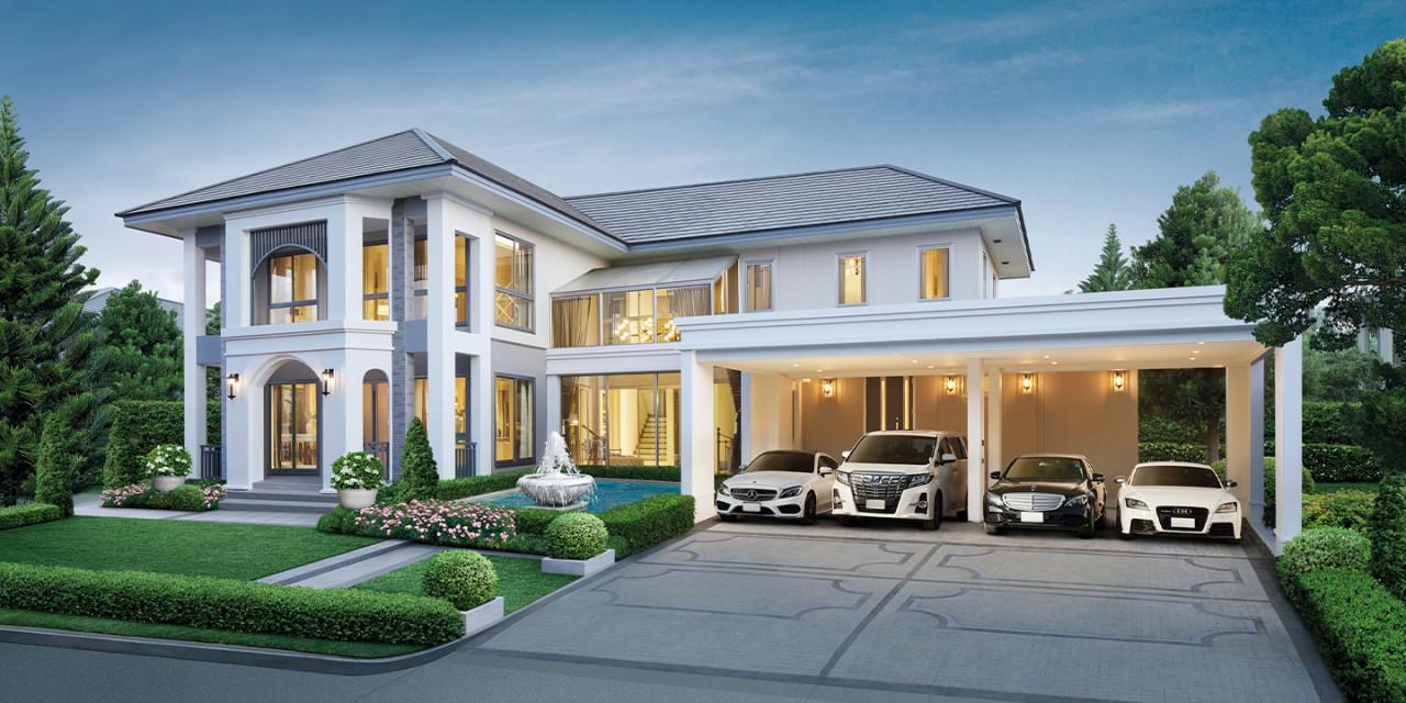 บ้านเดี่ยว Perfect Masterpiece สุขุมวิท 77 บ้านใหม่ บ้านพร้อมอยู่ รีวิว พรีวิว การเดินทาง